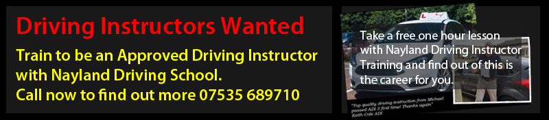 Driving Instructors Wantend