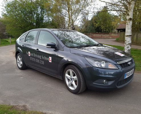 Nayland driving school car for teaching driving lessons