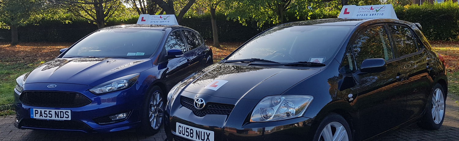 Nayland Driving School learners fleet